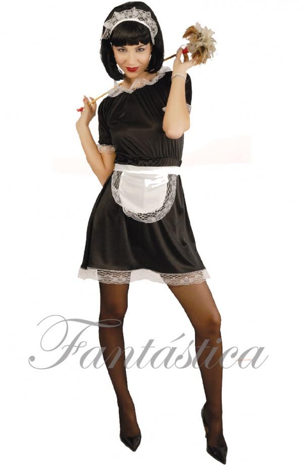 disfraz mujer limpieza
