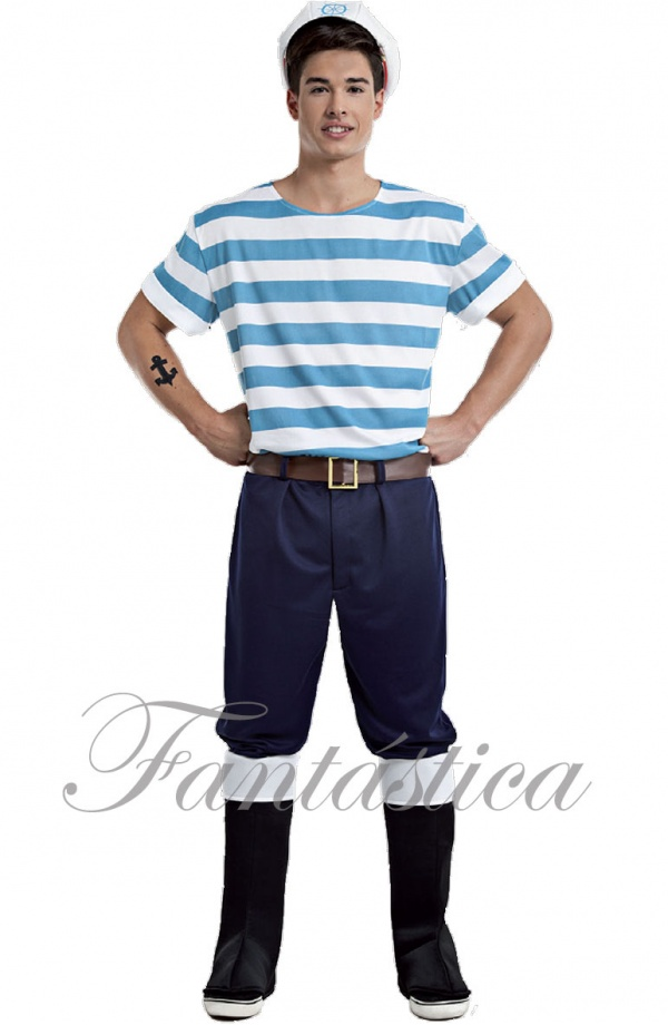 Disfraz para hombre marinero lobo de mar tienda esfantastica - Disfraz de marinero casero ...