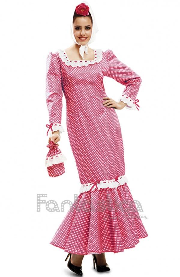 Vestidos, Faldas de Flamenca para mujer, trajes flamencos baratos (4 ...