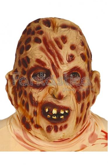 Mscara de Terror para Halloween Hombre Quemado Tienda Esfantastica