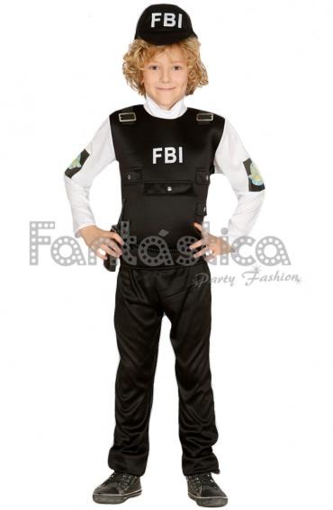 Disfraz de FBI sexy para mujer Funidelia