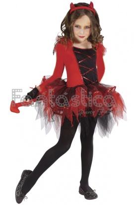 disfraces de diablos para niñas