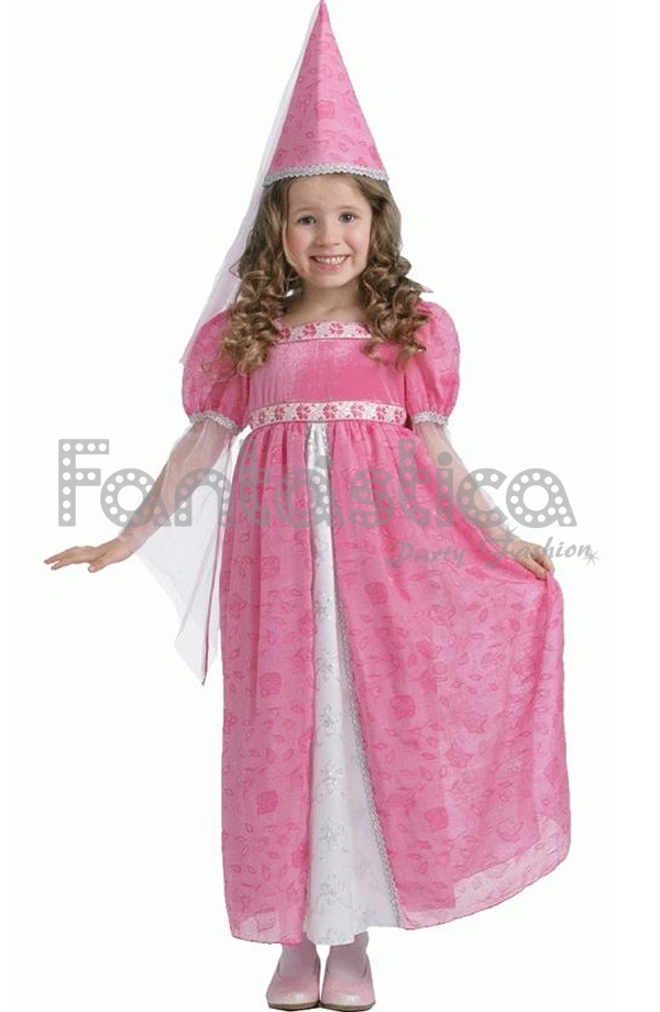 disfraz para nia princesa hada rosa