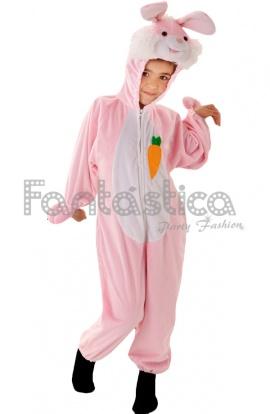 disfraz para nio y nia conejo rosa