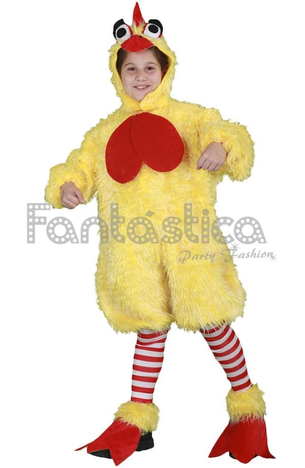 disfraz para nio y nia pollo