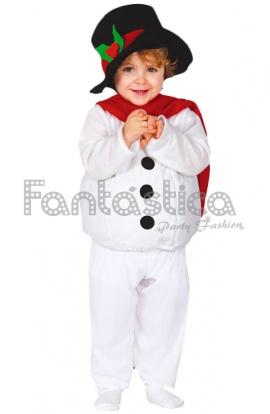 disfraz para beb y nio mueco de nieve