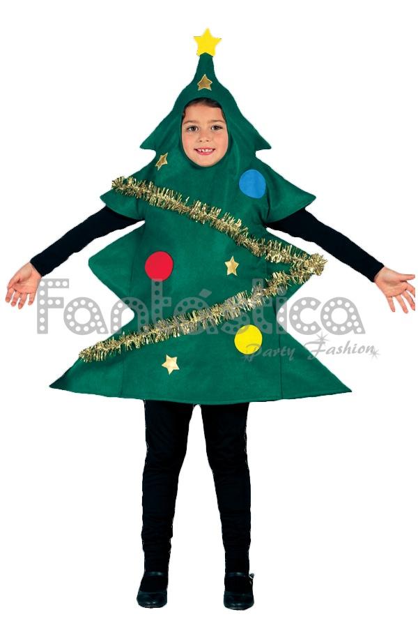 Disfraz para ni o y ni a rbol de navidad ii tienda - Disfraces para navidad ninos ...