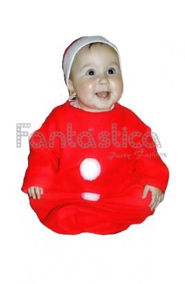 disfraz para beb pap noel