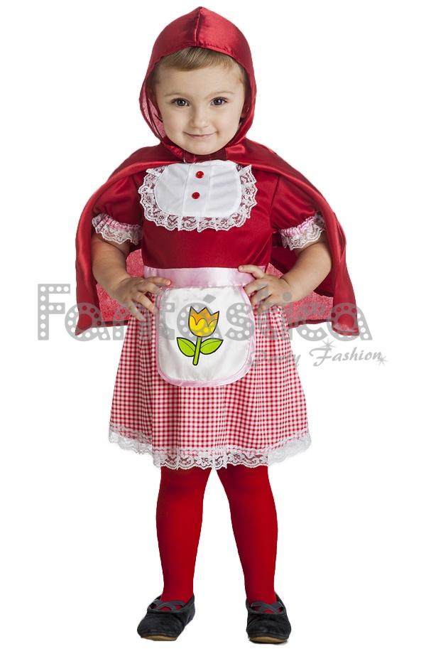 Disfraz para beb y ni a caperucita roja viii tienda - Disfraz bebe caperucita roja ...