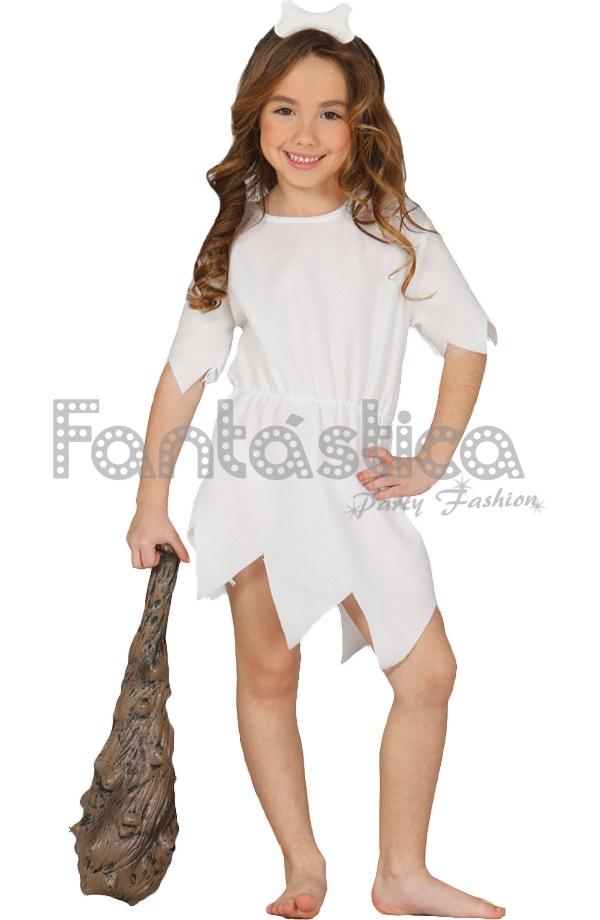 Disfraz Para Nina Mujer De Las Cavernas Vilma Picapiedra Tienda - Disfraz-familia-picapiedra