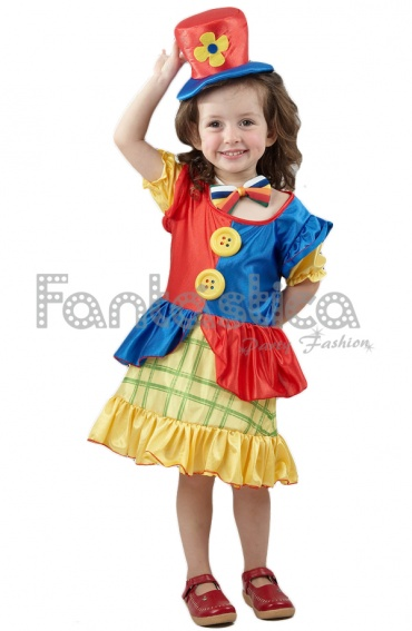 Costume for girl clown III