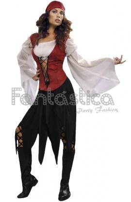 Amazones: disfraz pirata mujer