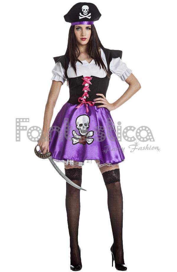 Disfraces Mujer Pirata Sexy, disfraces baratos, Carnaval, despedida ...
