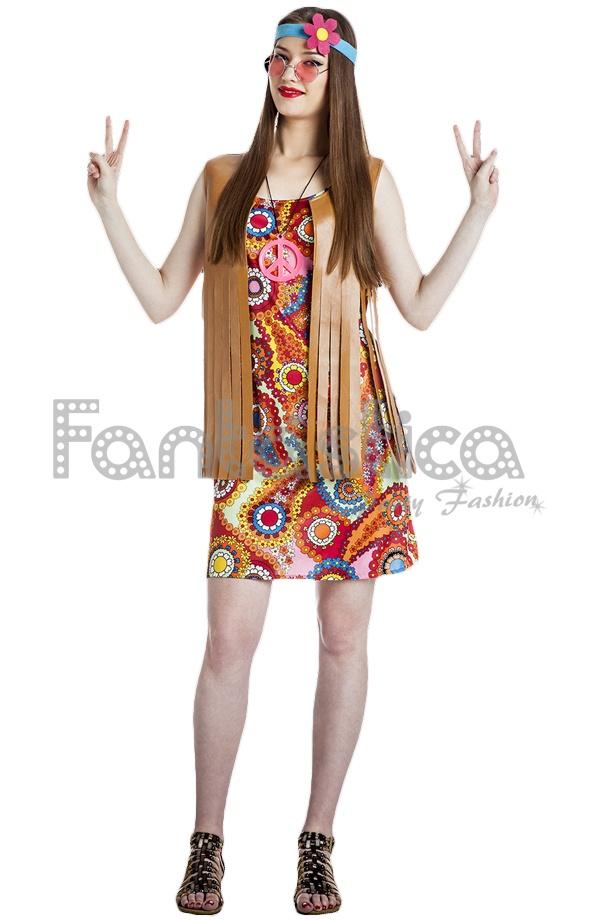 Disfraz para mujer hippie vi tienda esfantastica - Ropa hippie moderna ...