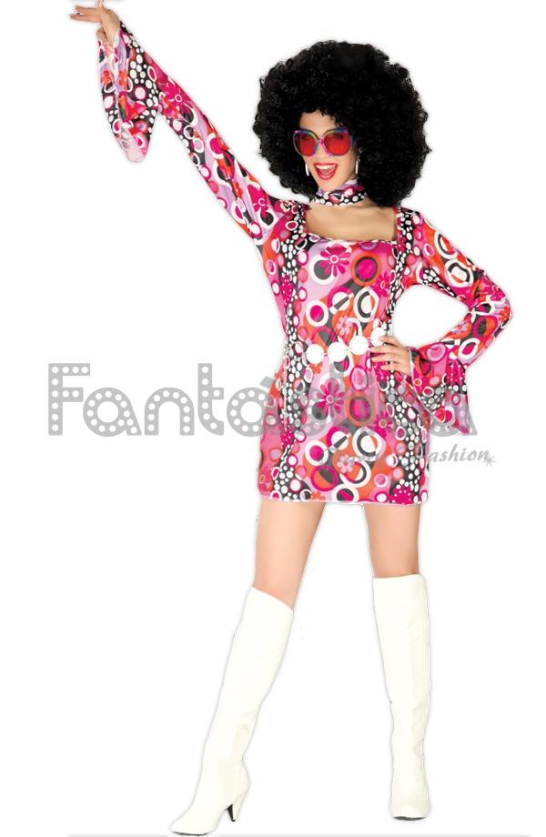 Disfraz para mujer disco a os 70 tienda esfantastica - Fiesta disco anos 70 ...