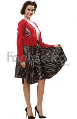 Disfraz para Mujer Años 50 b37d76badb66