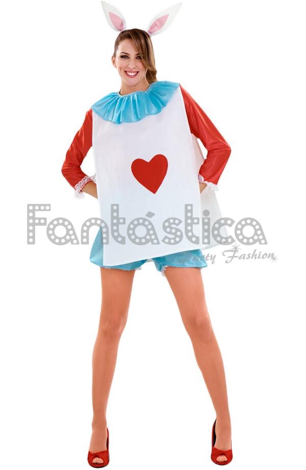 Disfraz para mujer conejo de alicia en el pa s de las maravillas tienda esfantastica - Conejo de alicia en el pais de las maravillas ...