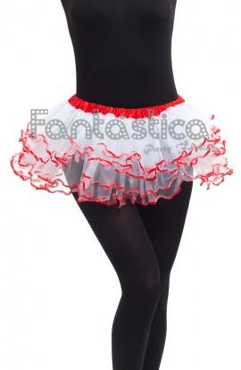 7df168dfd Tutú para Ballet y Danza - Falda de Tul con Volantes para Niña.