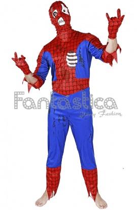 disfraz para hombre spiderman zombie