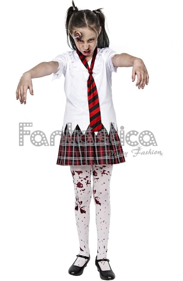 Disfraz para Nia Colegiala Zombie Tienda Esfantastica