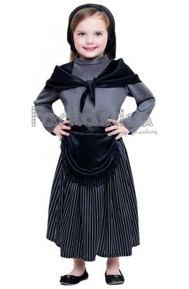 disfraz para nia vieja castaera