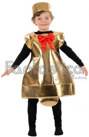 Disfraz para ni o y ni a campana de navidad ii tienda - Disfraz navideno nina ...