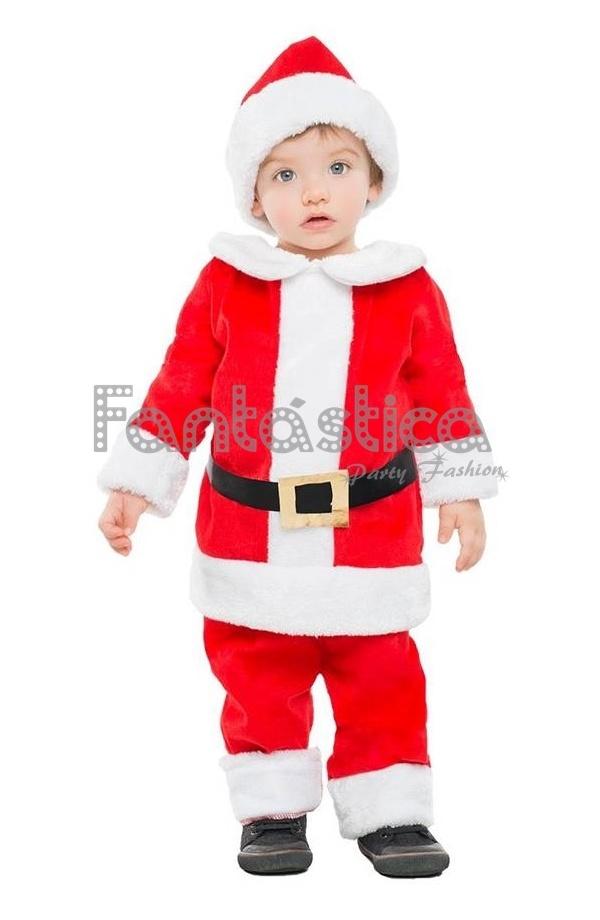 Disfraz para beb y ni o pap noel iv tienda esfantastica - Disfraz papa noel nino ...