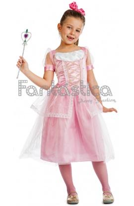 disfraz para nia princesa dulce rosa