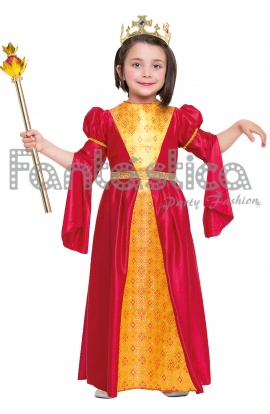 disfraz para nia princesa medieval