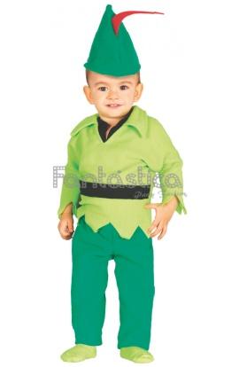 disfraz para beb y nio peter pan o robin hood