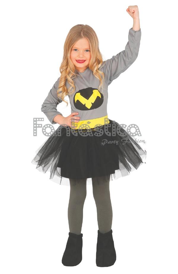 Disfraz para ni a batgirl batichica tienda esfantastica - Disfraces de angel para nina ...