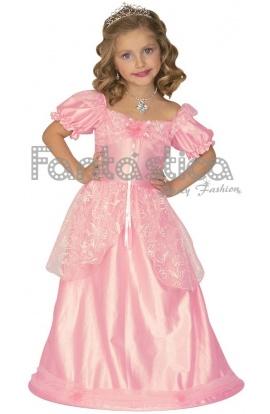 disfraz para nia princesa rosa medieval ix