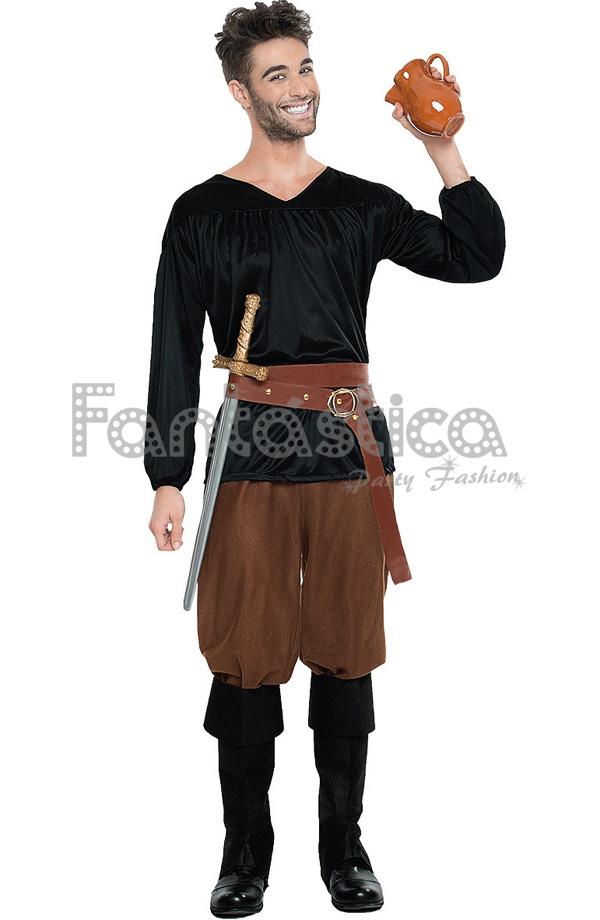 Disfraz para hombre campesino medieval tienda esfantastica - Trajes de carnaval de epoca ...