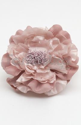 Flores rosas para el pelo baratas flores para flamenca - Color rosa empolvado ...