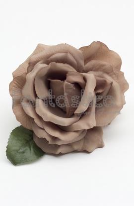 Flores Color Marron Para Flamencas Y Sevillanas Flores Para El - El-color-marron