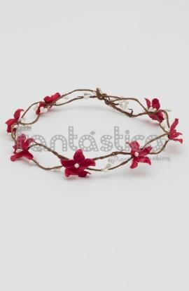 Coronas baratas de flores para el pelo tiaras de flores for Donde venden plantas baratas