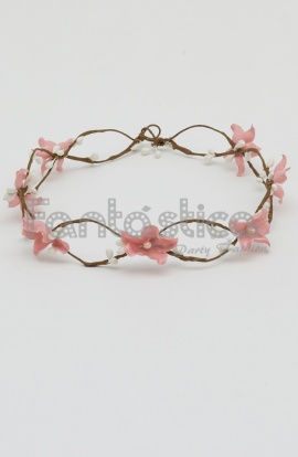 coronas baratas de flores para el pelo tiaras de flores diademas