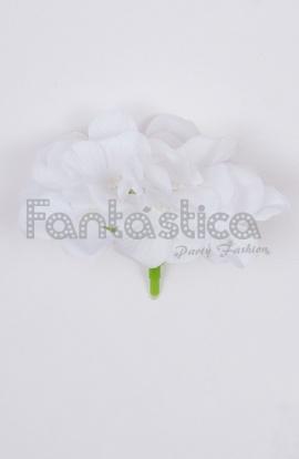 Tocados baratos para novias flores para el pelo para for Suelto blanco suelto barato