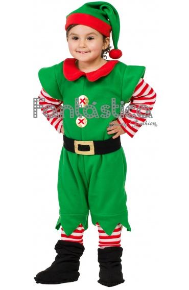 Traje De Duende Para Nino #5: Disfraz-para-bebe-y-nino-elfo-navideno-ii.jpg