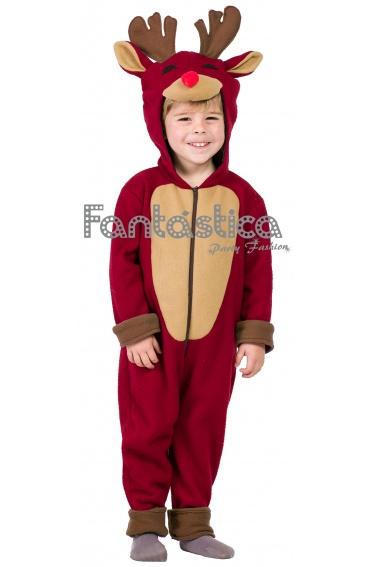 Disfraz para beb y ni o reno rodolfo tienda esfantastica - Disfraces navidad para bebes ...