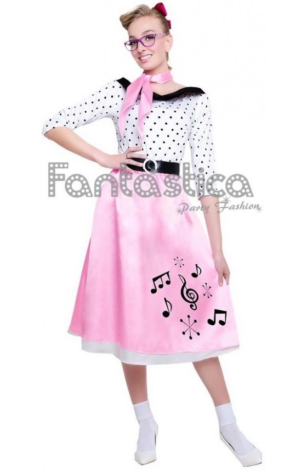 Disfraz para Mujer Grease Años 50 - Tienda Esfantastica