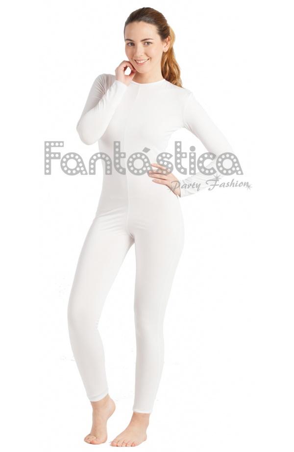 Mono Color Blanco Spandex XL D9fkWClws