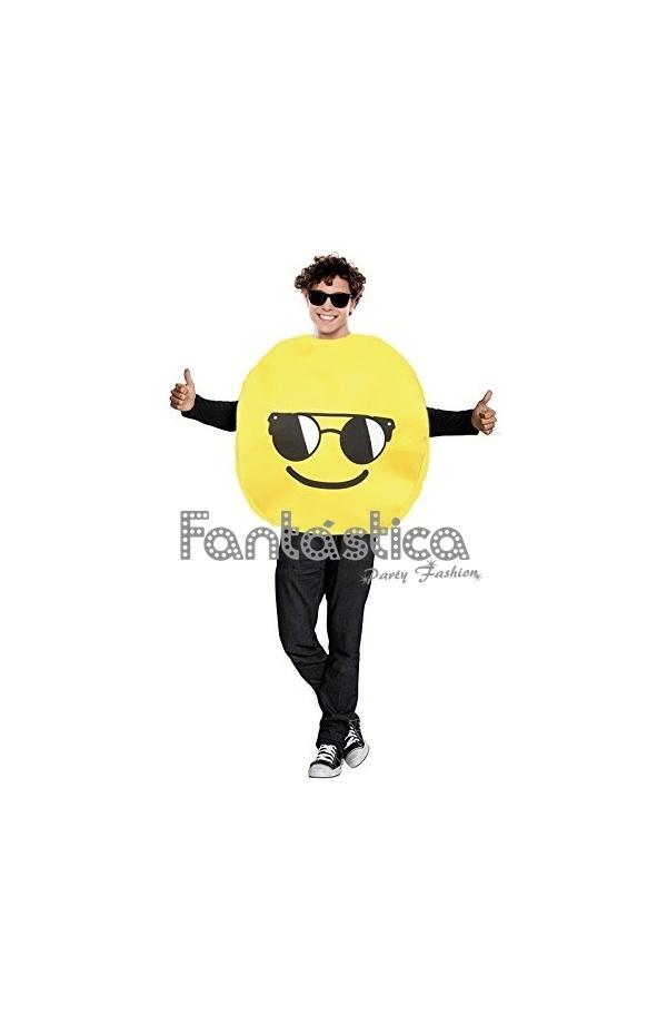 Disfraz para mujer y hombre emoticono guay gafas de sol de - Emoticono gafas de sol ...