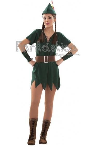 Disfraz para Mujer Peter Pan Sexy