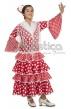 Disfraz para Niña Bailaora de Flamenco y Sevillanas Rojo