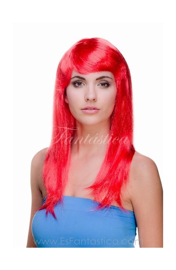 Pelucas para disfraces, pelucas largas lisas de colores, Carnaval ...