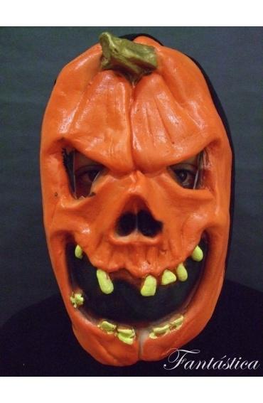 M scara de terror para halloween calabaza mal fica - Calabazas de halloween de miedo ...