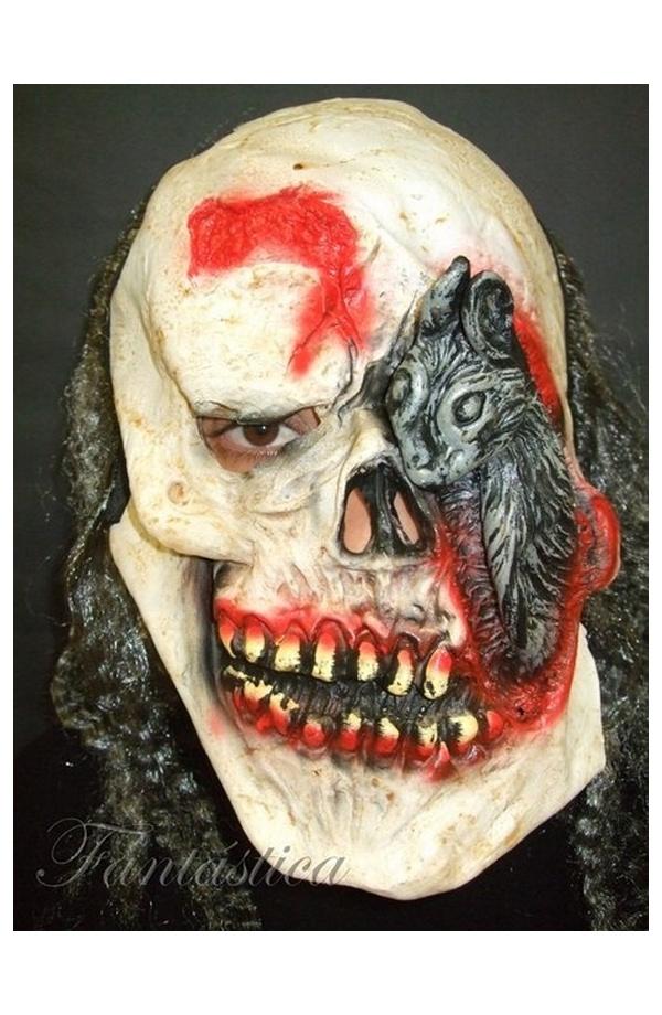 M scara de terror para halloween calavera pirata iv - Mascara de terror ...