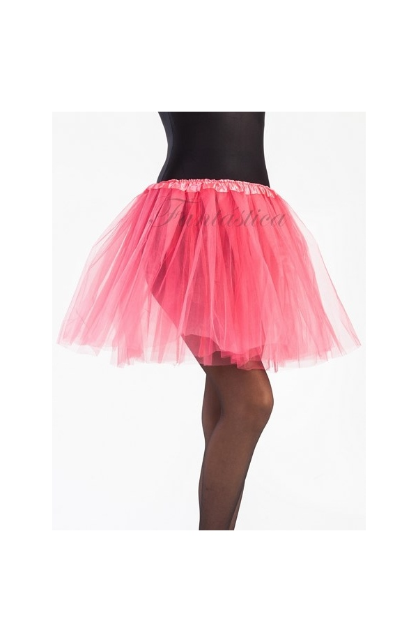 Tutú para Ballet y Danza - Falda de Tul Larga para Mujer Color Rosa ...