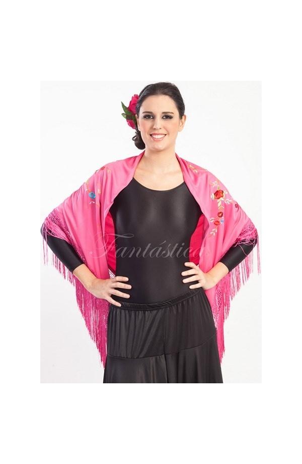 Mantón de Flamenca para Mujer - Mantón Flamenco para Mujer Bordado ...